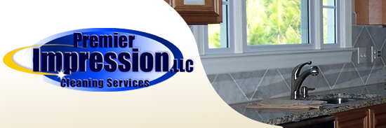 our cleaning company logo at top of page